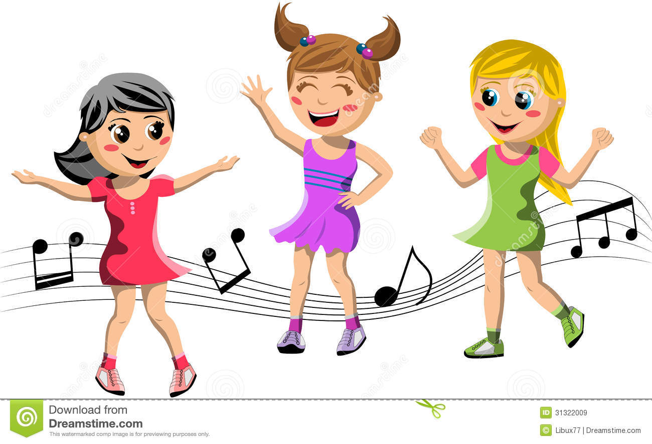 hight resolution of child dancing clipart 12