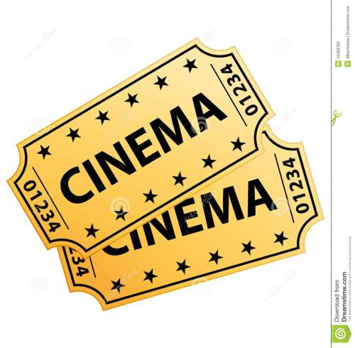 small resolution of cinema ticket clipart 8