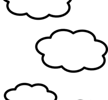 Cloudy clipart 4 » Clipart Station