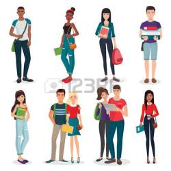 College Student Clipart