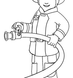 community helpers clipart black and white 9 [ 736 x 1250 Pixel ]