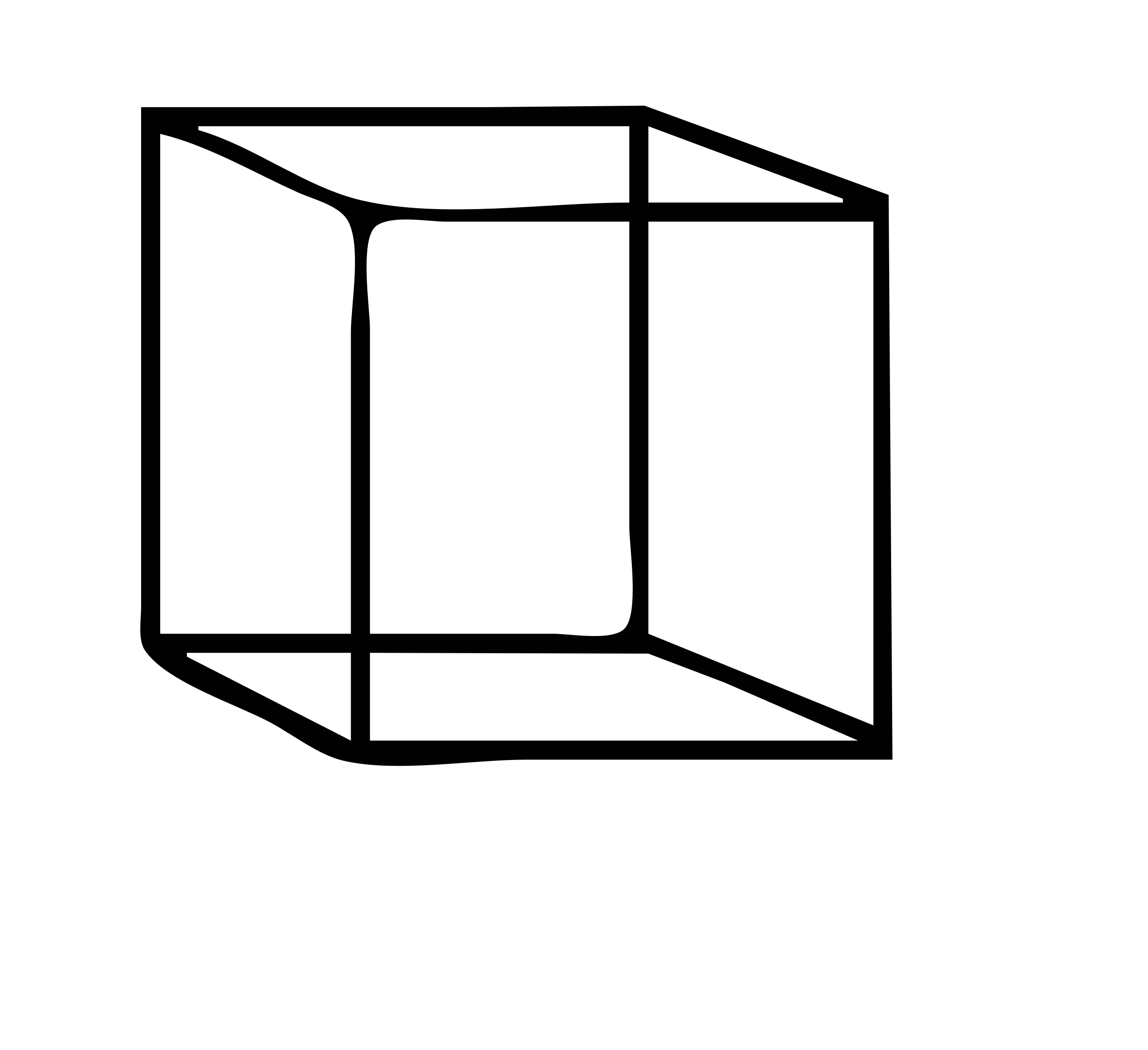 Cube Clipart Black And White 3 Clipart Station