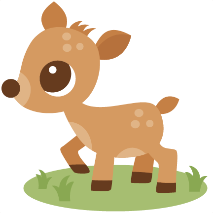 cute deer clipart clipart
