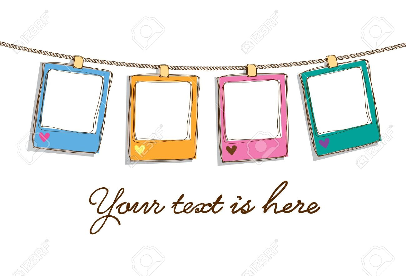 hight resolution of cute frame clipart