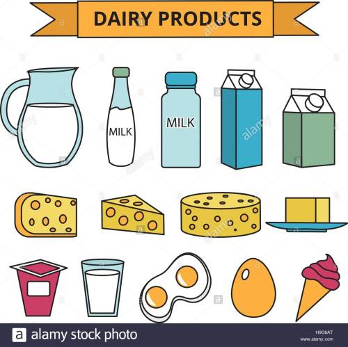 small resolution of dairy products clipart 10