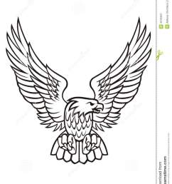 eagle clipart black and white 4 [ 981 x 1300 Pixel ]