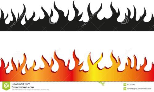 small resolution of fire clipart border 10