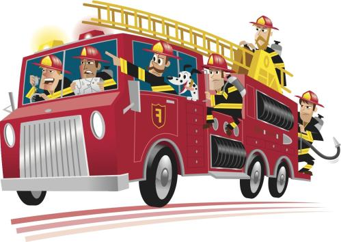 small resolution of fire truck clipart 6