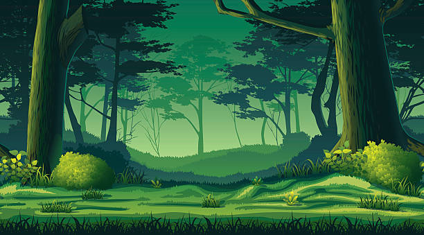 Forest background clipart 8  Clipart Station