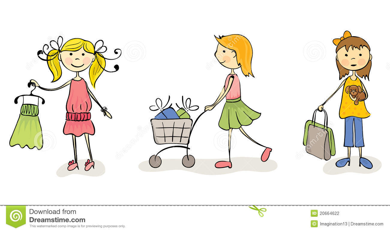 Go Shopping Clipart 2 Clipart Station