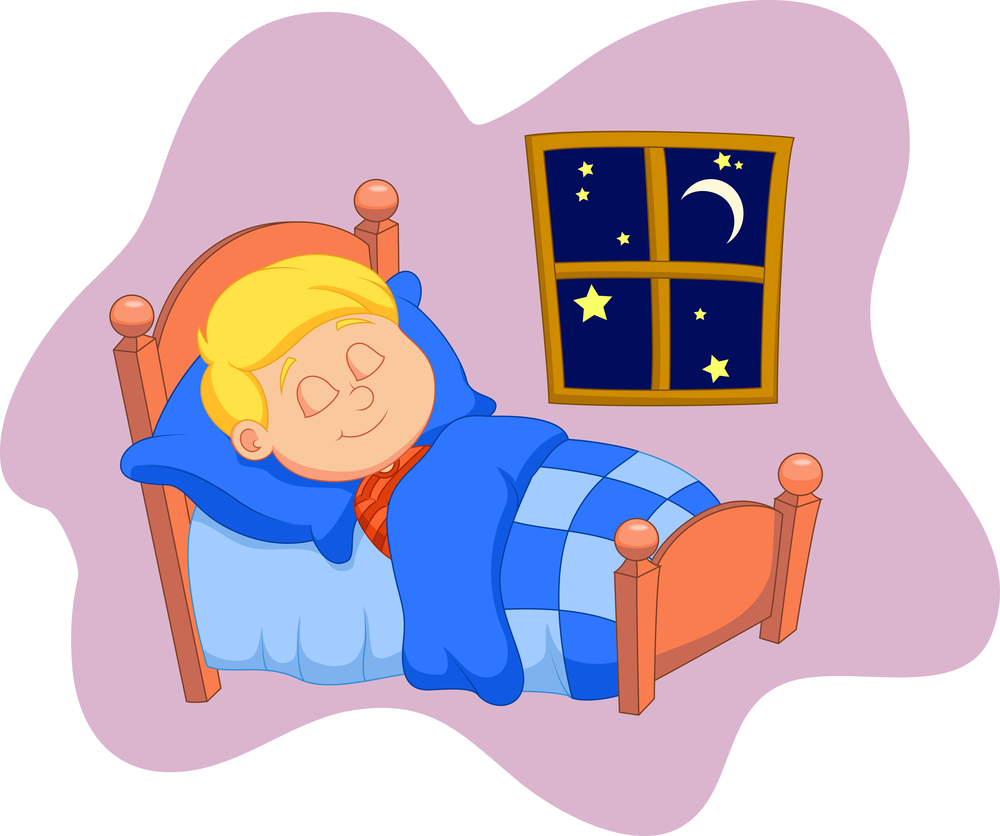 hight resolution of go to bed clipart 6