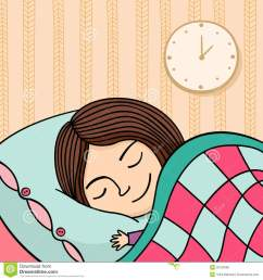 go to bed clipart girl 4 [ 1300 x 1384 Pixel ]
