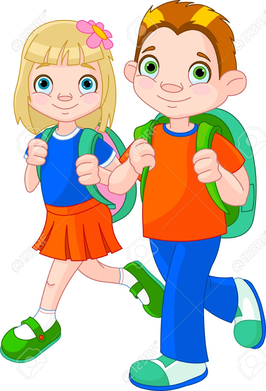 hight resolution of go to school clipart 3
