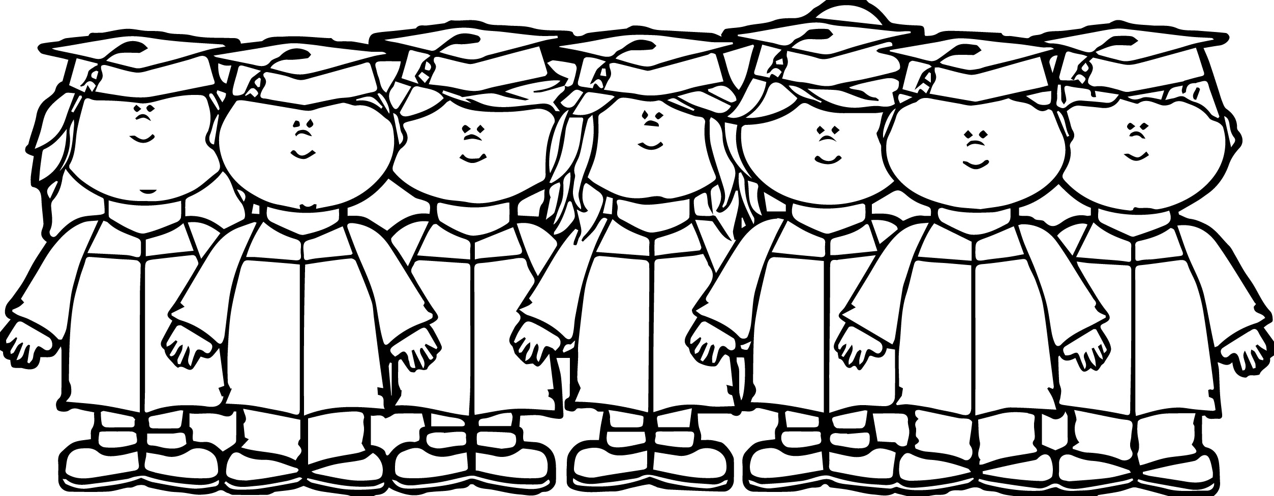Graduation clipart black and white 7 » Clipart Station
