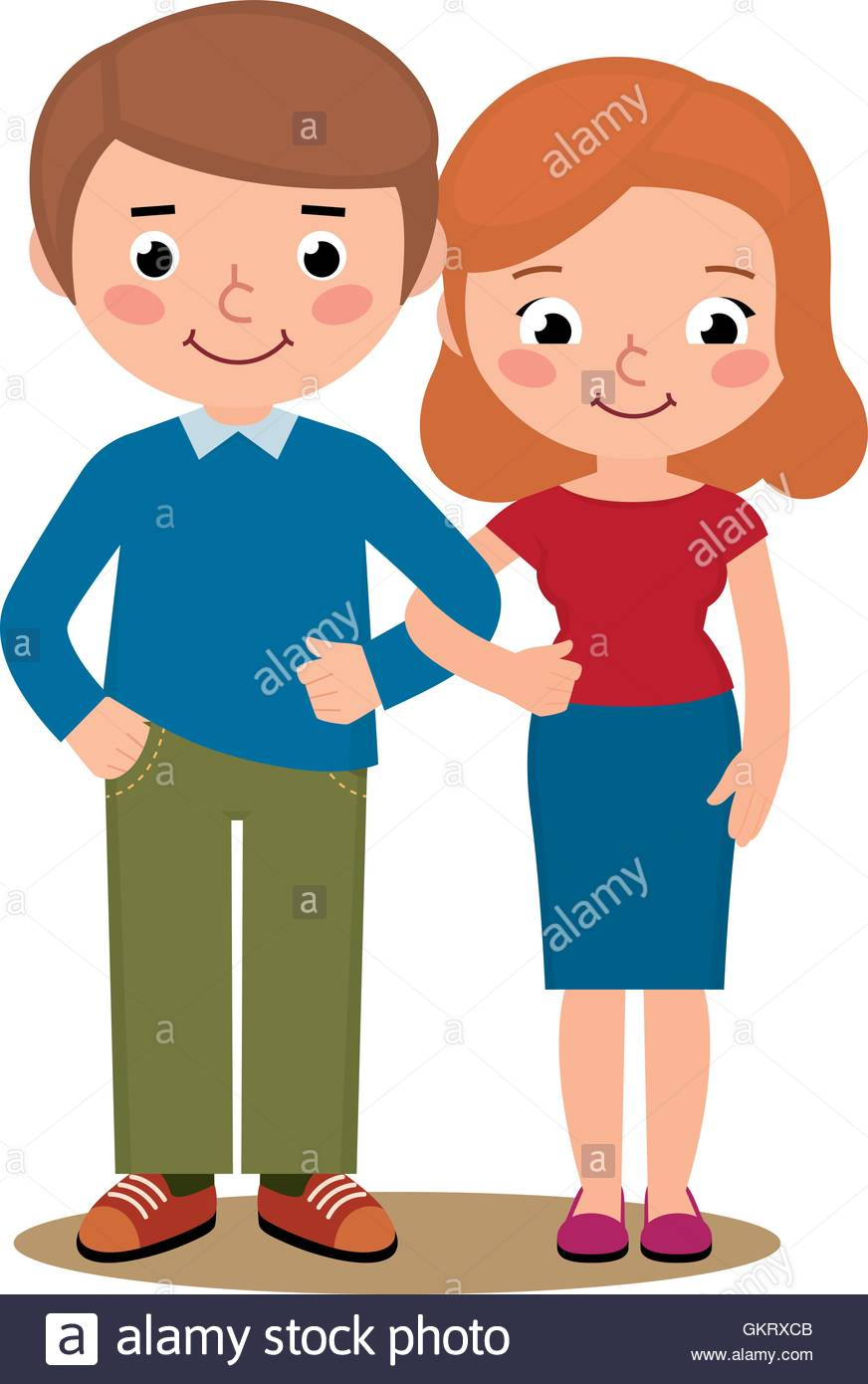 hight resolution of husband and wife clipart 10