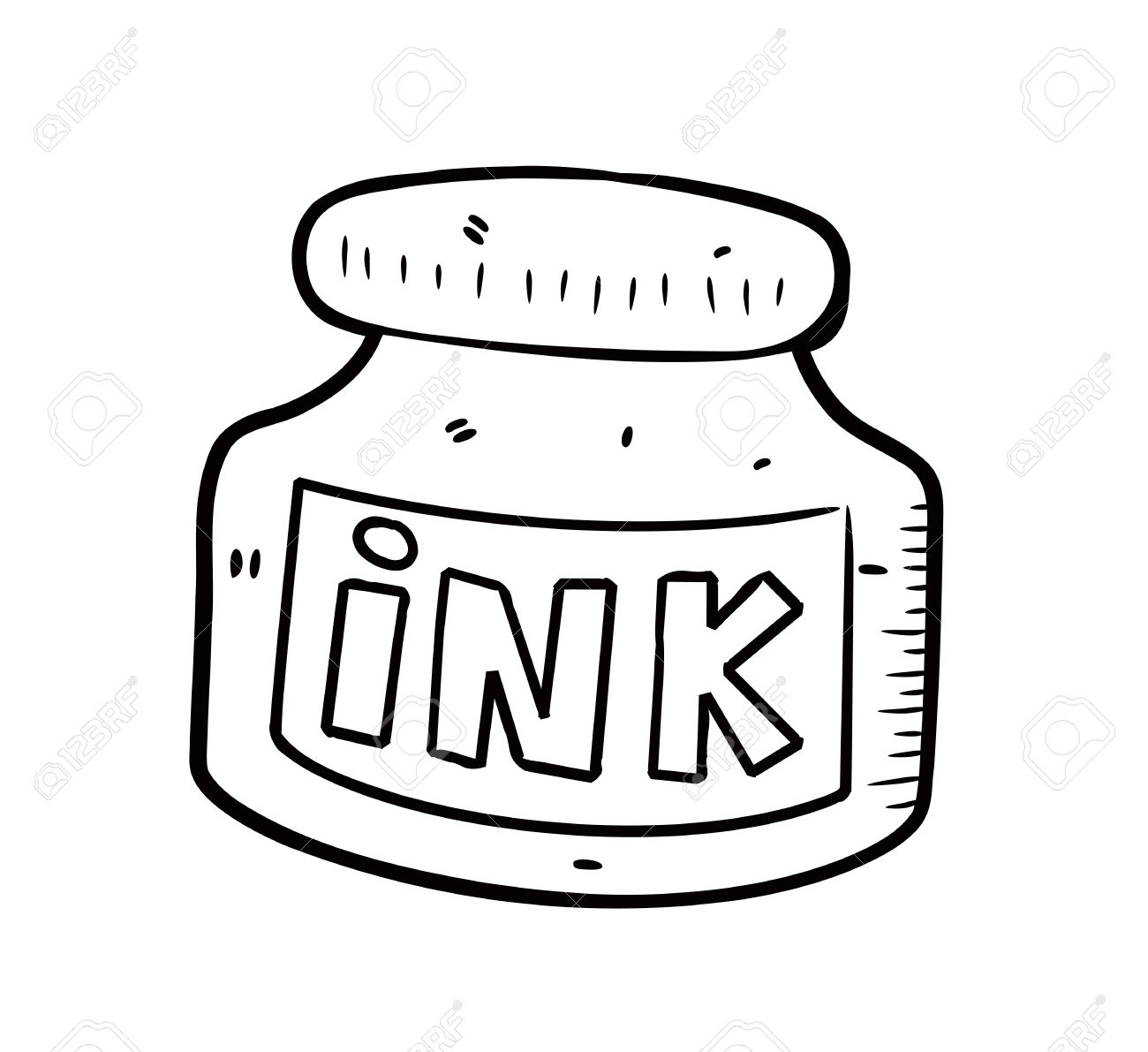 Ink Clipart Black And White Clipart Station