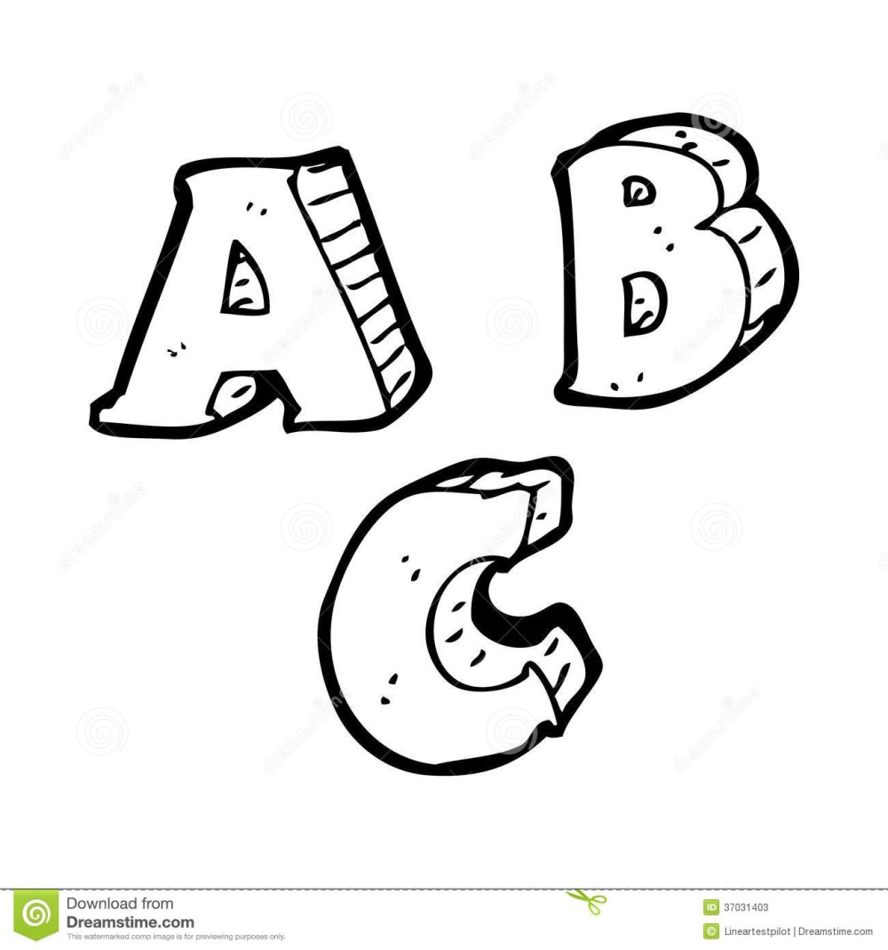 medium resolution of black and white letters clipart clipart kid
