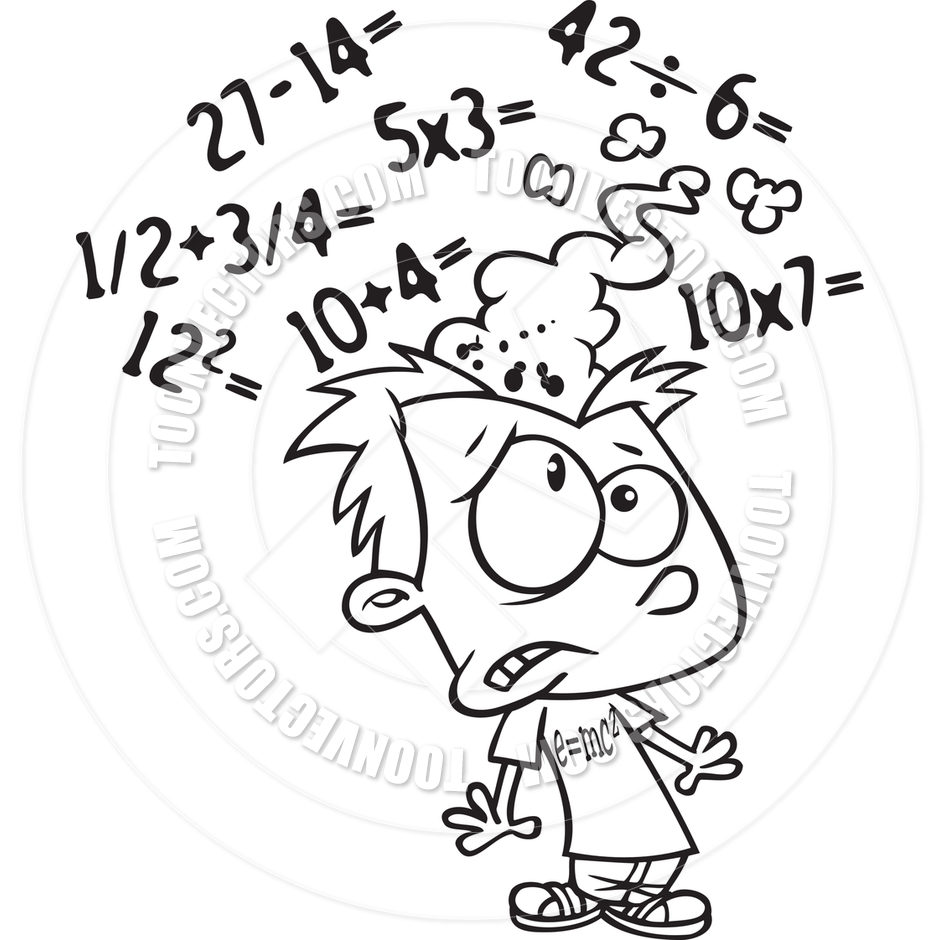 Maths clipart black and white 8 » Clipart Station