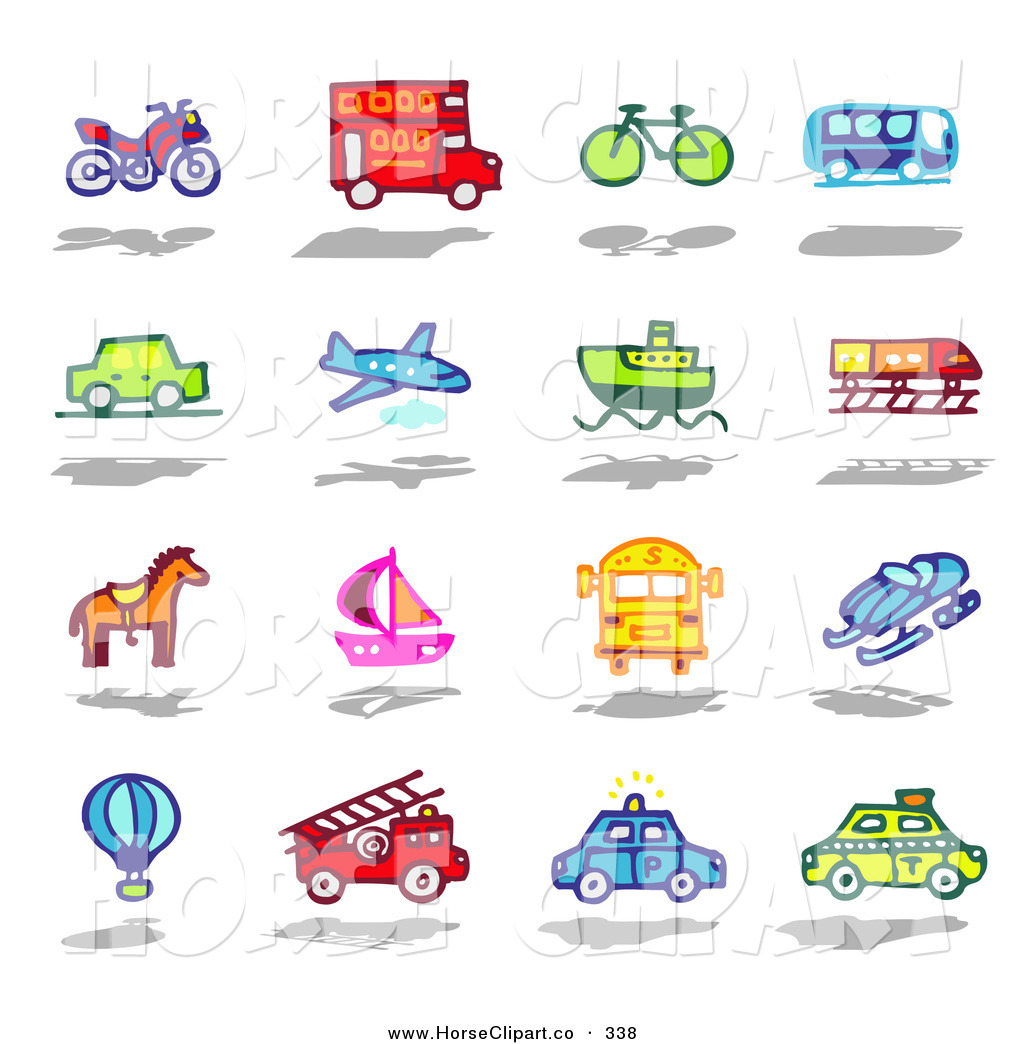 Modes Of Transport Clipart 3 Clipart Station