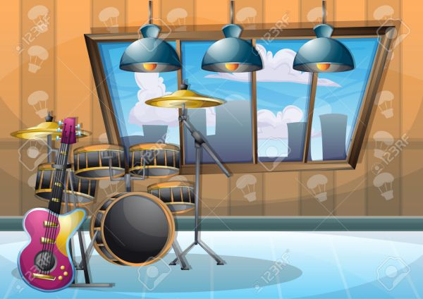 Music Room Clipart 8 Station