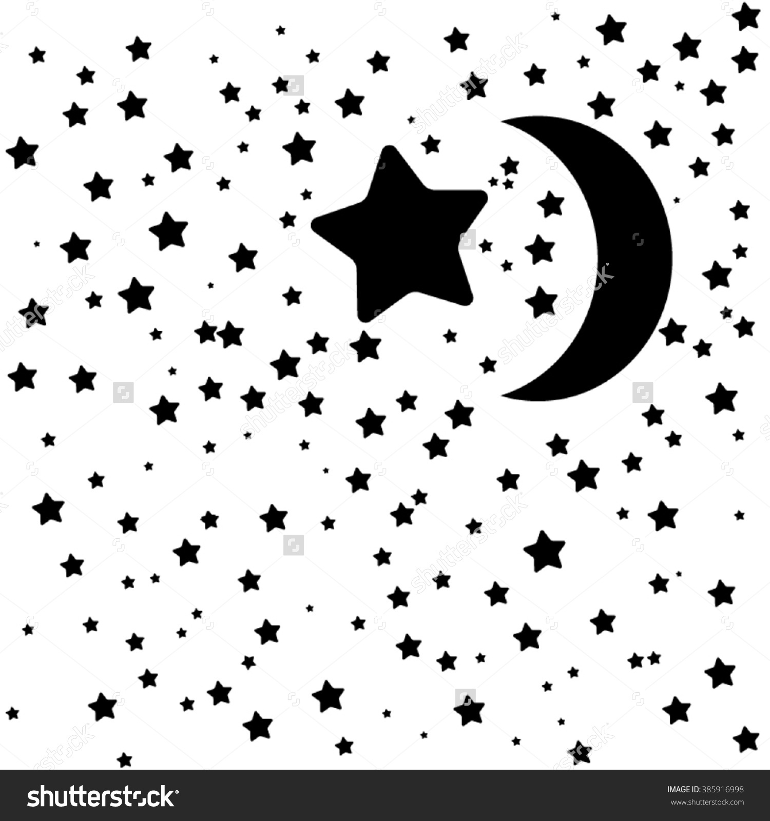 Night Clipart Black And White 2 Clipart Station
