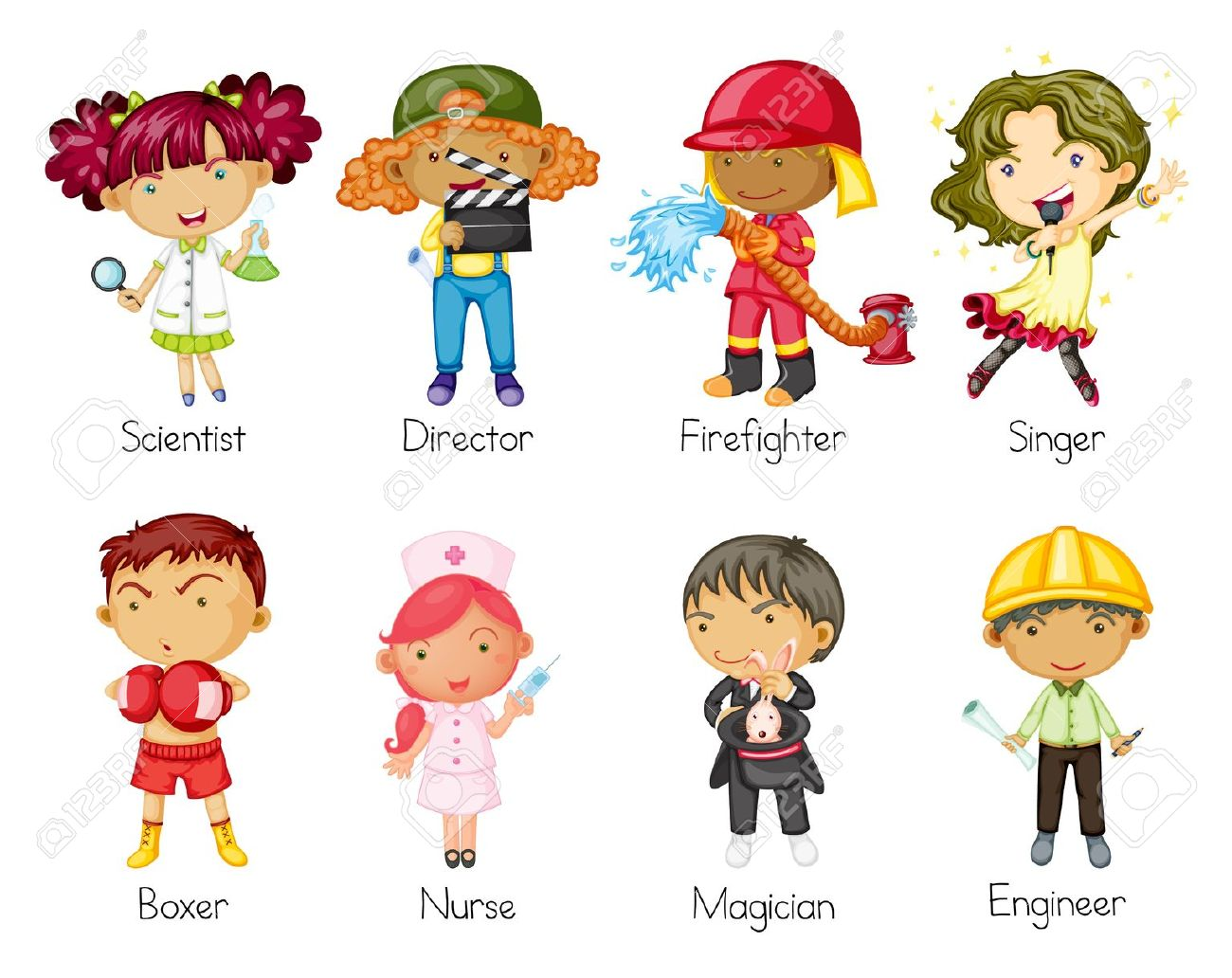 Occupations Clipart For Kids 8 Clipart Station