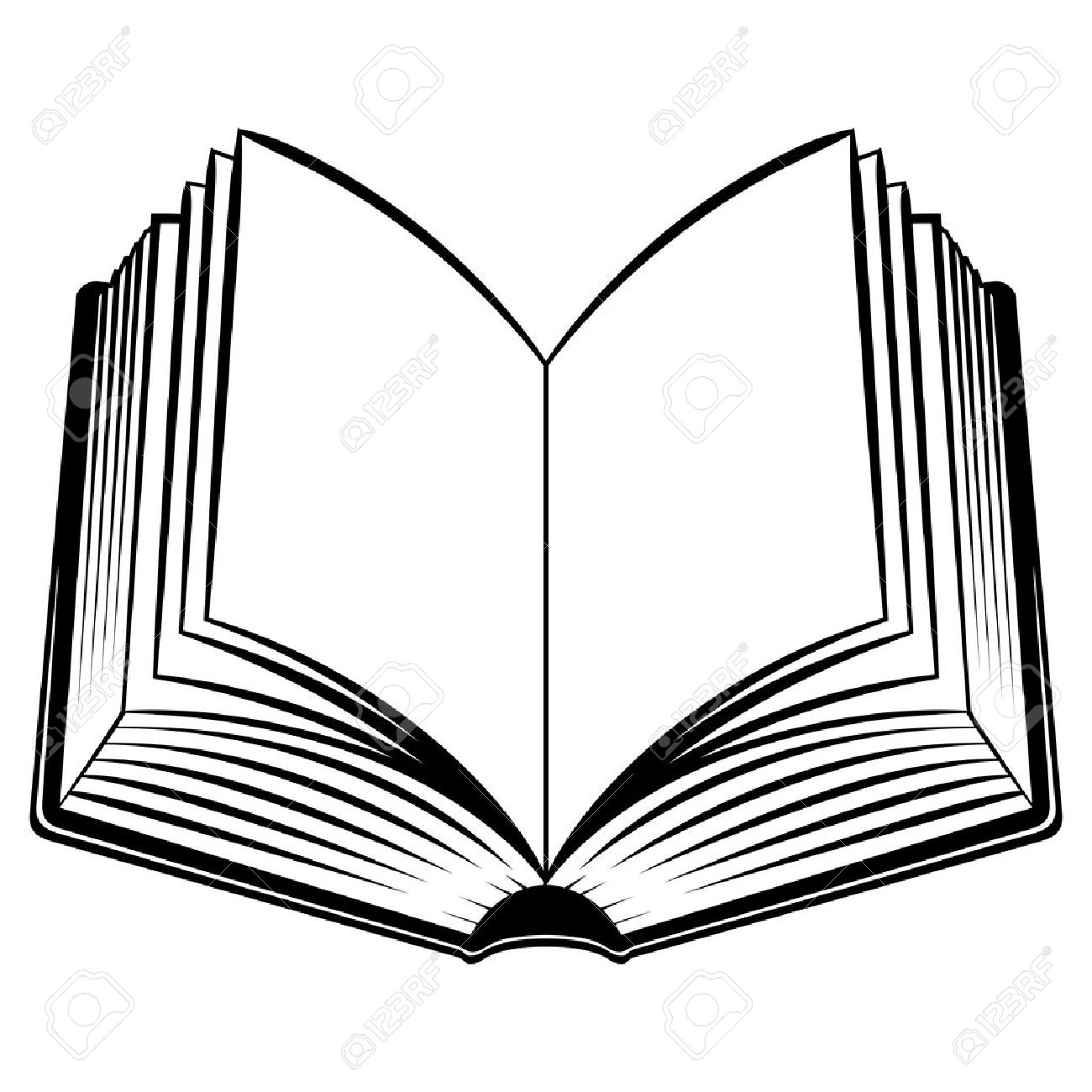 Offenes Buch Clipart 7 Clipart Station