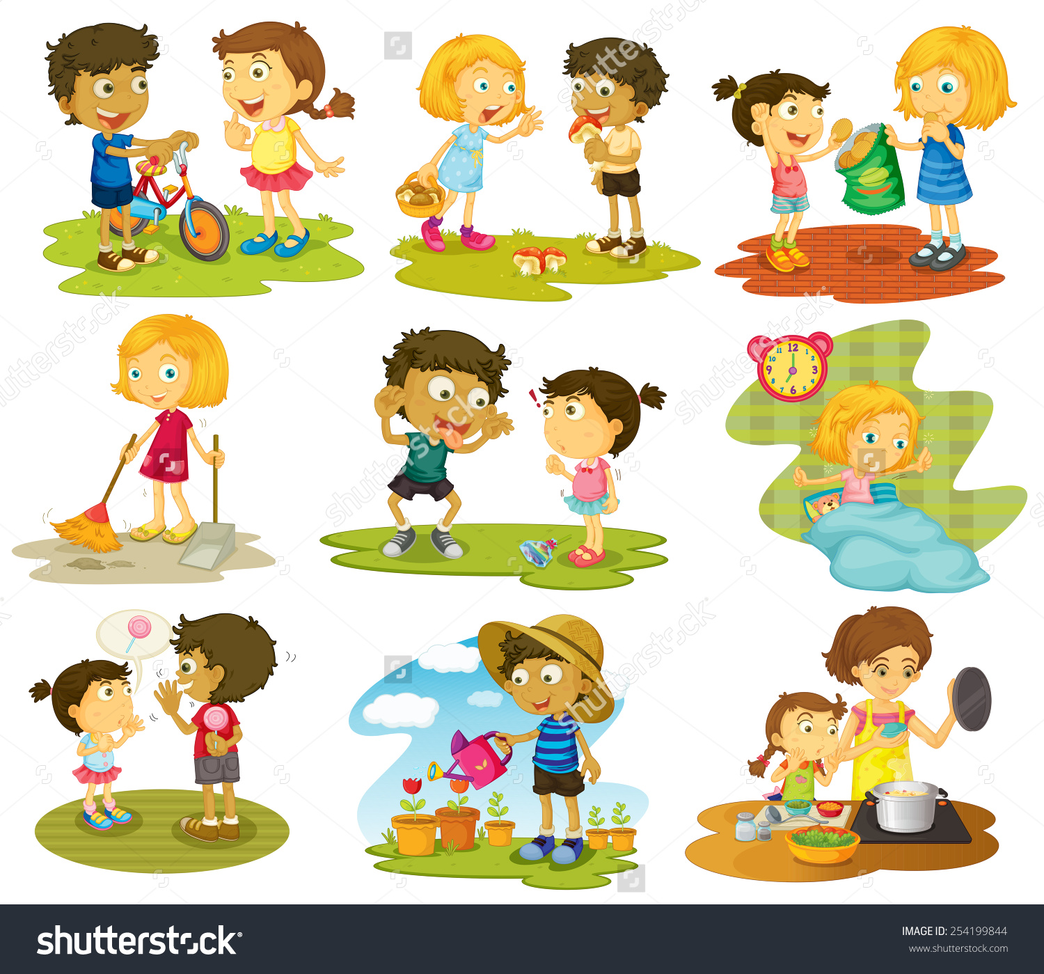 Outdoor Games For Kids Clipart 12 Clipart Station