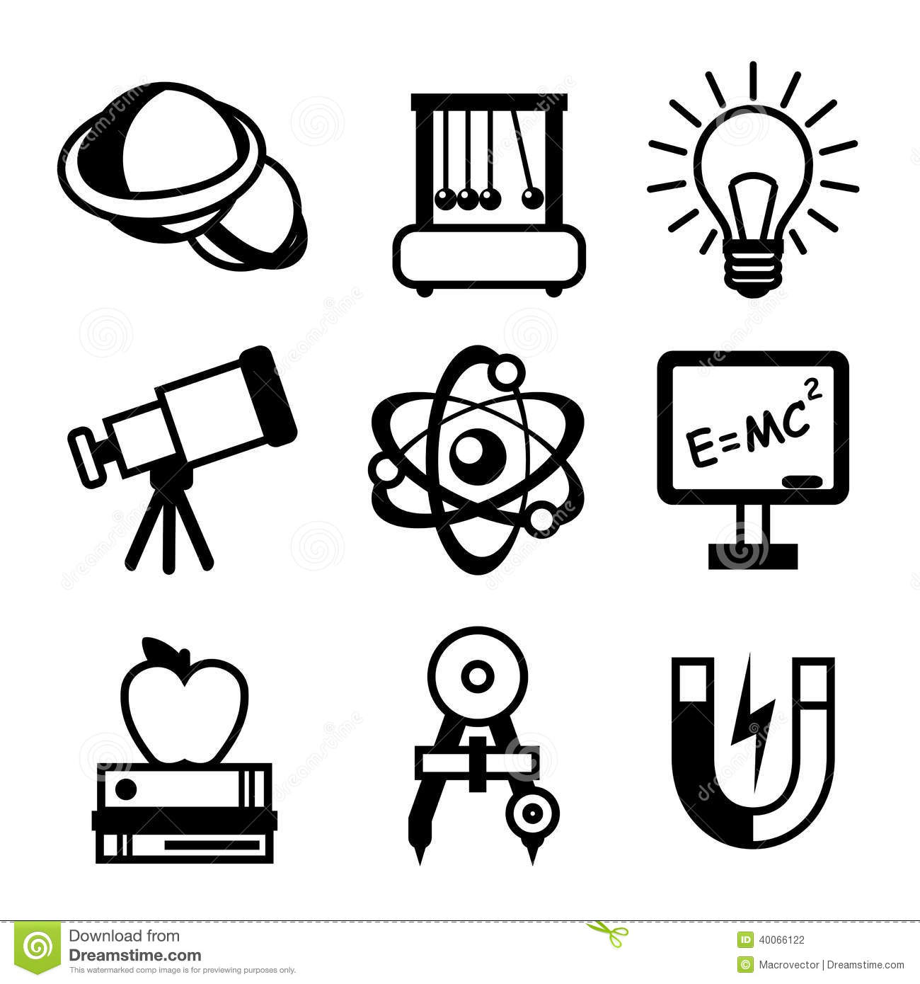 Physics clipart black and white 5 » Clipart Station