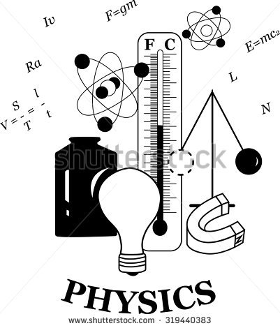 Physics clipart black and white 9 » Clipart Station