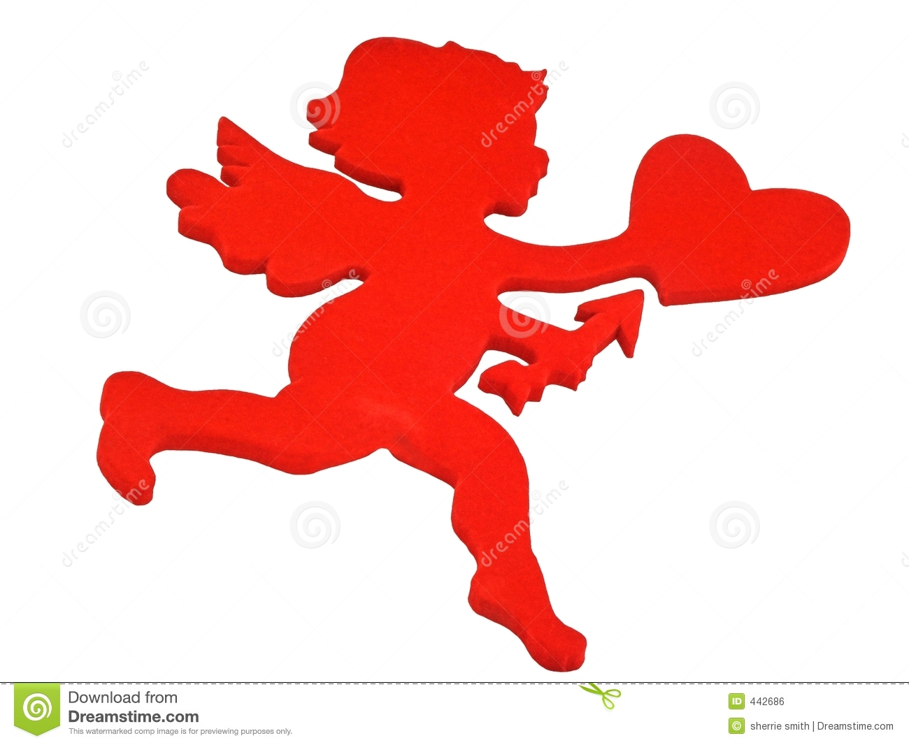 hight resolution of red cupid clipart 4