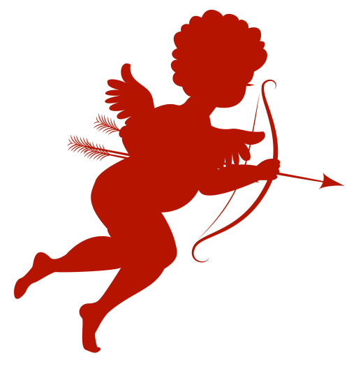 small resolution of red cupid clipart