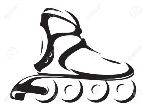 small resolution of roller skates clipart 6