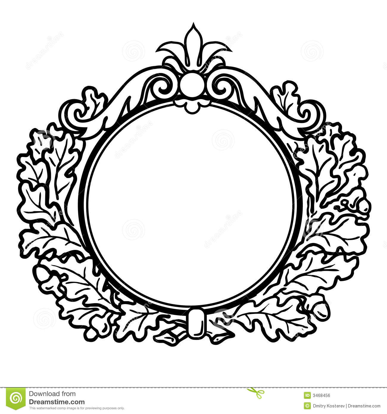 Round Design Clipart 6 Clipart Station