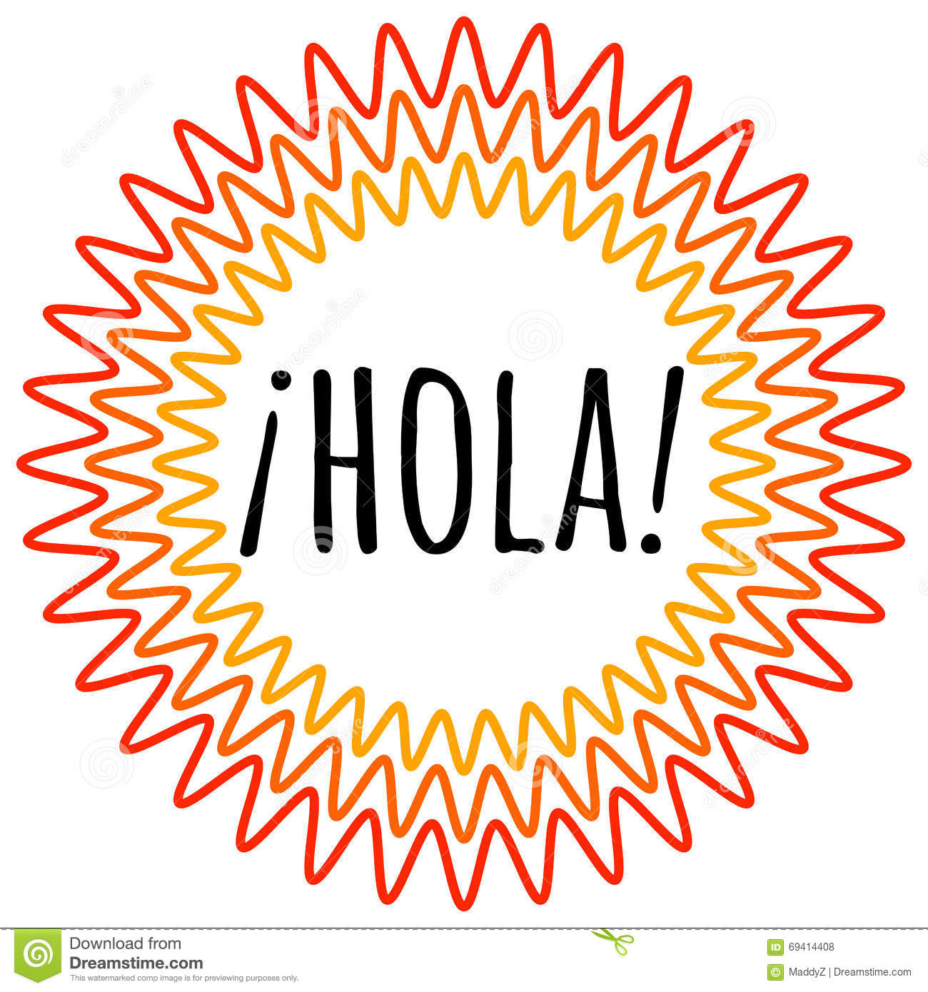 hight resolution of spanish hola clipart 5