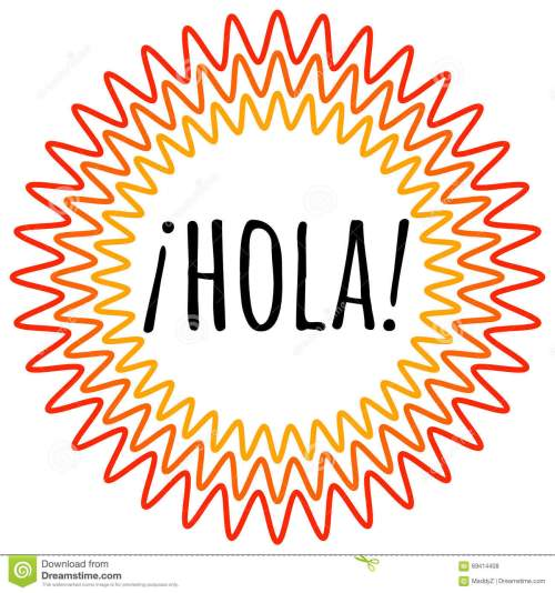 small resolution of spanish hola clipart 5