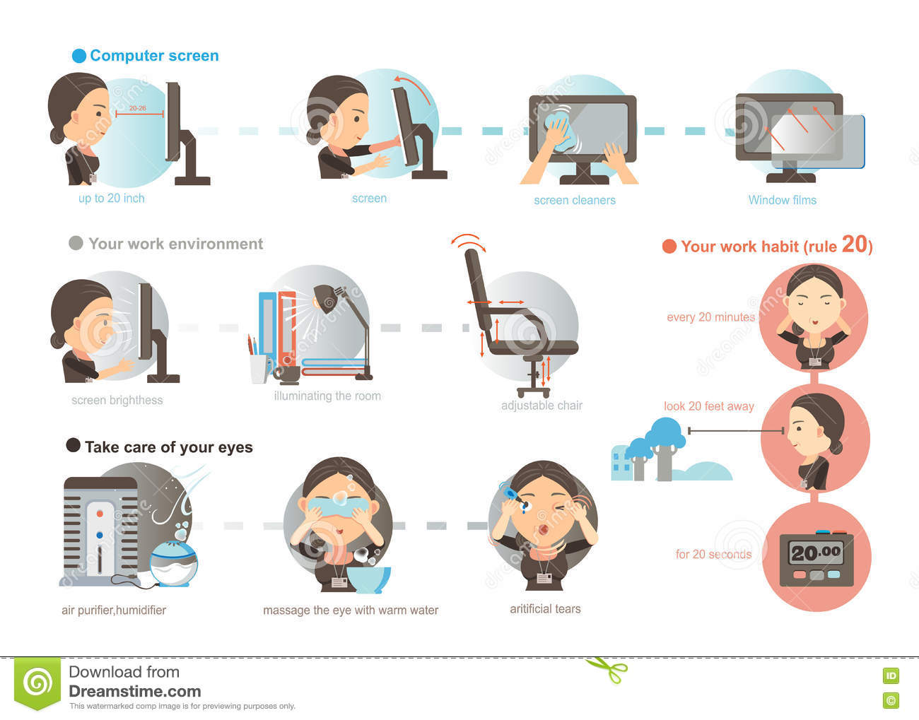 Taking Care Of Eyes Clipart 4 Clipart Station