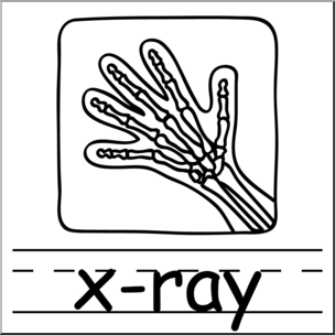 X ray clipart black and white 4 » Clipart Station