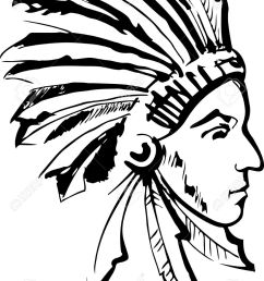 american indian chief clipart 6 [ 959 x 1300 Pixel ]