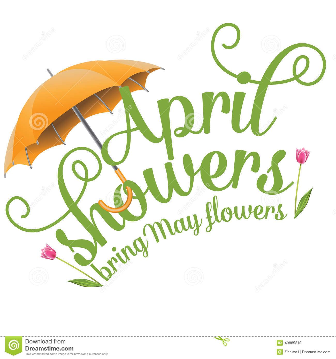 hight resolution of april showers bring may flowers free clipart 2