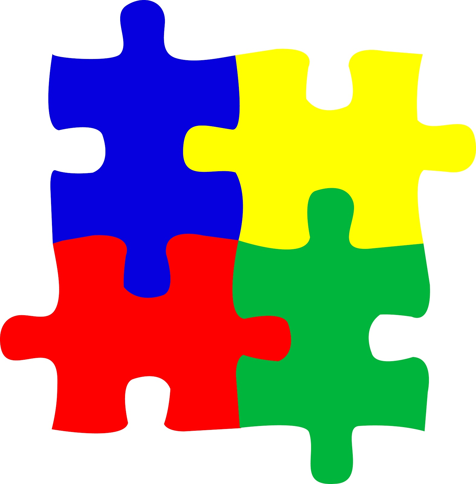 hight resolution of autism puzzle piece clipart 2