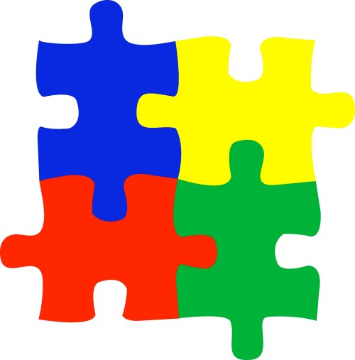 small resolution of autism puzzle piece clipart 2