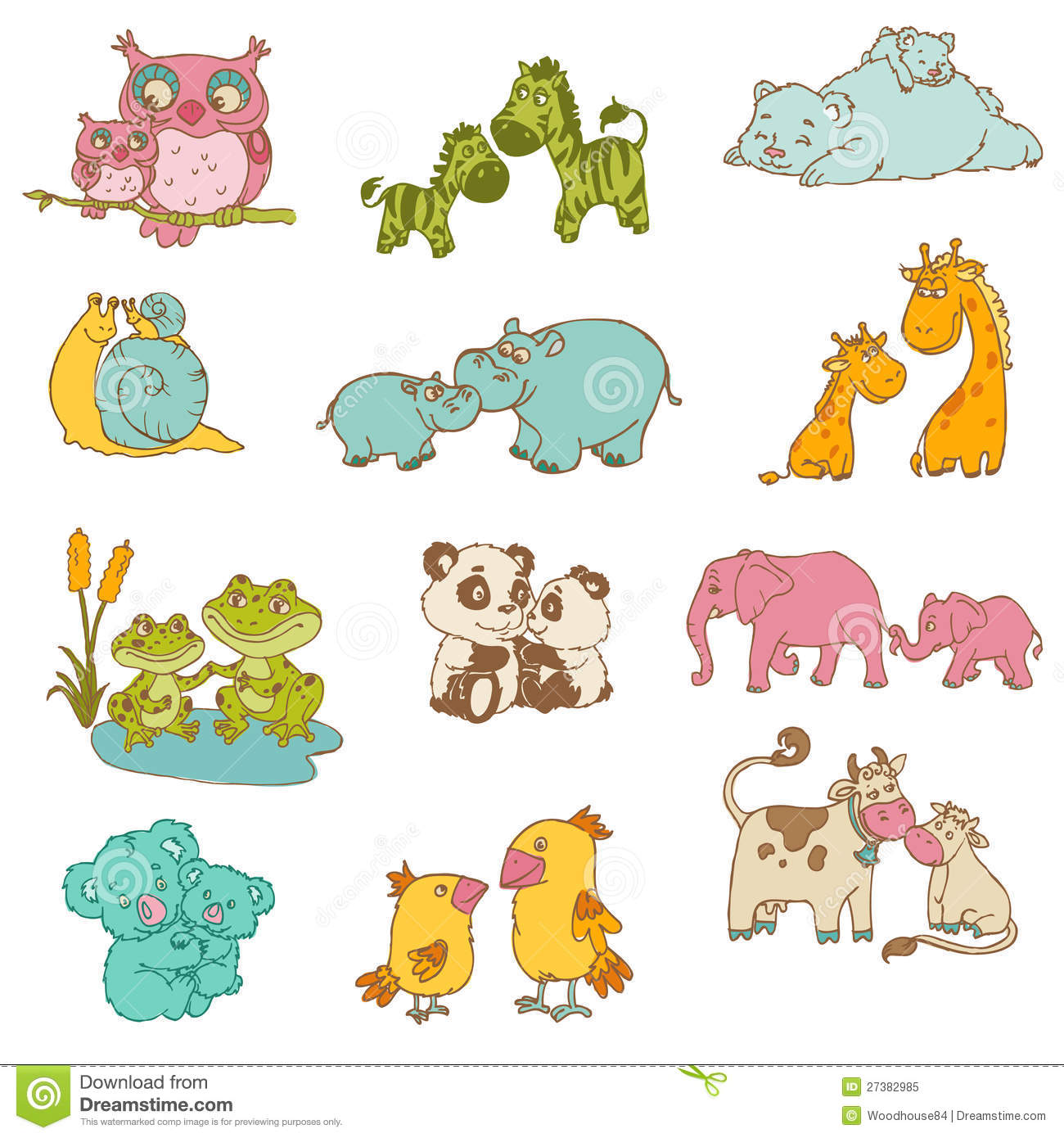 hight resolution of baby animal clipart free 9