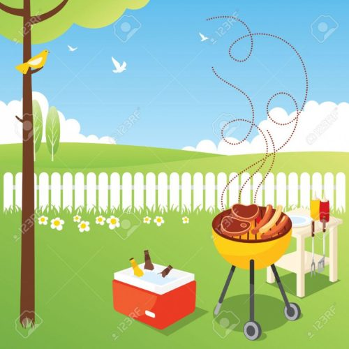 small resolution of backyard bbq clipart 2