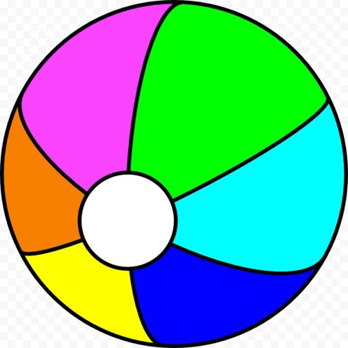 small resolution of beach ball clipart free 1