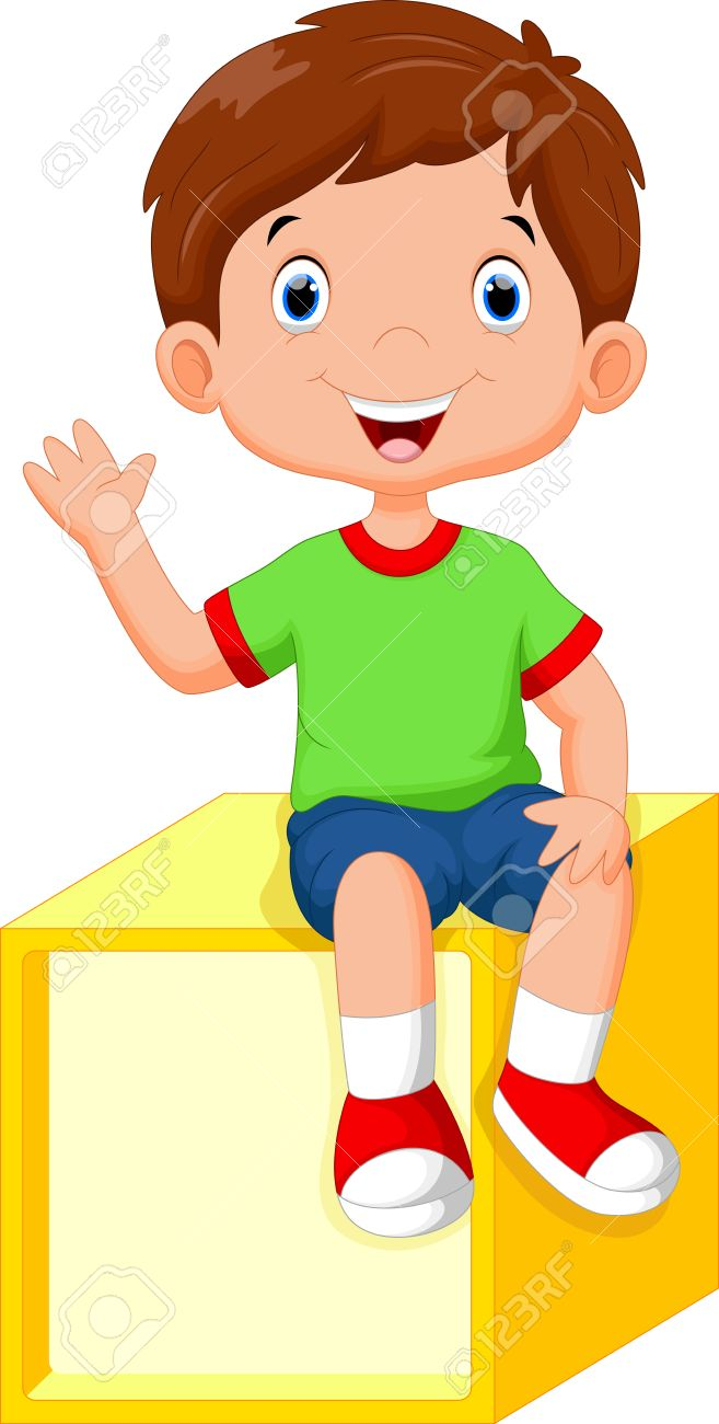 hight resolution of boy sitting clipart 6