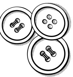 button clipart black and white 2 [ 2400 x 2400 Pixel ]