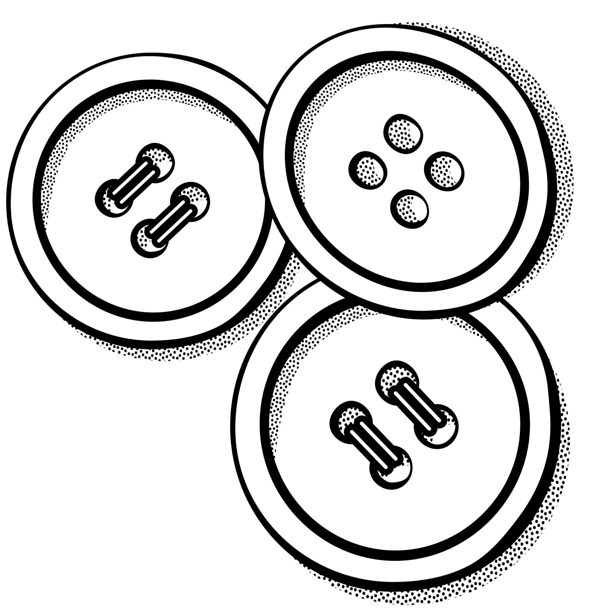 hight resolution of button clipart black and white 2