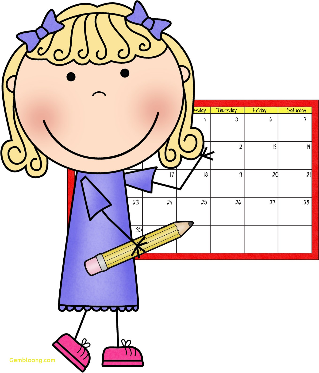 hight resolution of calendar helper clipart lovely making inclusion work 10 tips to help you before school begins