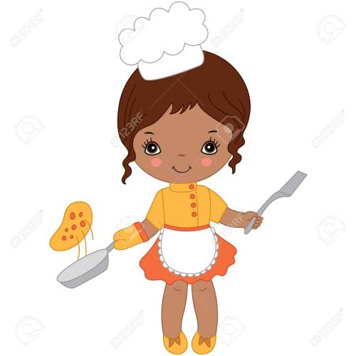 small resolution of chef clipart girl 2